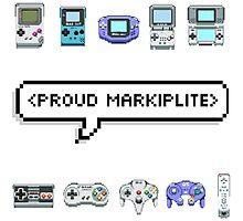 MARKIPLIER - PROUD MARKIPLITE Photographic Print
