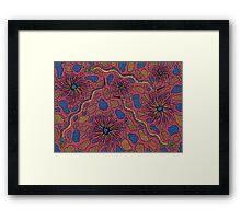 Joorr - (snake) barrgan season (winter) Framed Print