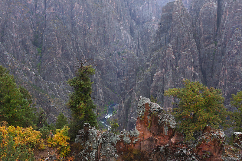 Black Canyon of the Gunnison by Steve  Taylor