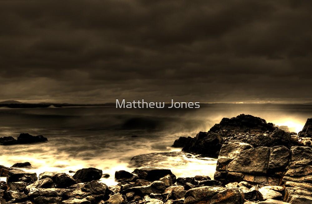 Forster beach by Matthew Jones