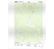 Maine USGS Historical Map Columbia Falls 20110830 TM Poster