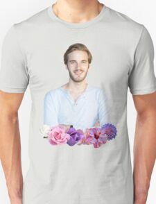 PEWDIEPIE - FLOWER BORDER Unisex T-Shirt