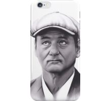Realism Charcoal Drawing of Bill Murray iPhone Case/Skin