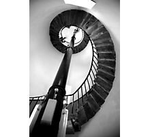 Inside South Stack Lighthouse.  Photographic Print