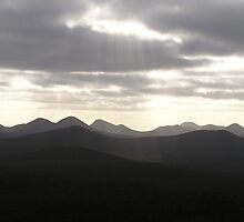 Mountain Rays by tbetts