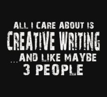Creative Writing Major TShirt & Hoodies by Awesome Arts