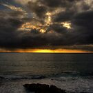 Sunset on the West Coast by GerryMac