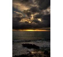Sunset on the West Coast Photographic Print