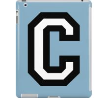 Letter C two-color iPad Case/Skin
