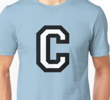 Letter C two-color Unisex T-Shirt