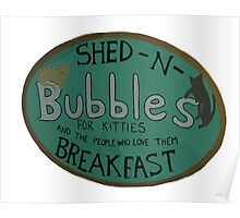 For Kitties and the people who love them BREAKFAST. Poster