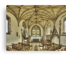 Lady Chapel, St David's Cathedral, Wales Canvas Print
