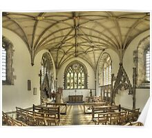 Lady Chapel, St David's Cathedral, Wales Poster