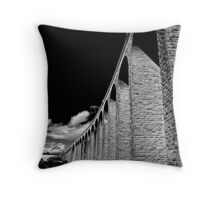 Clava Viaduct Throw Pillow