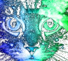 Cosmic Kitty Sticker