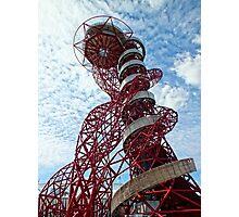 Anish Kapoor's Orbit, Olympic Park, London Photographic Print