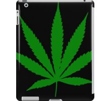 Funny leaf. iPad Case/Skin