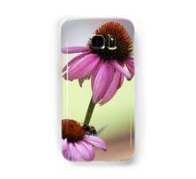 pink echinacea Samsung Galaxy Case/Skin
