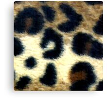 Spotted Leopard Print Canvas Print