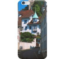 Luzern Street iPhone Case/Skin
