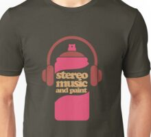 Stereo Music and paint Unisex T-Shirt