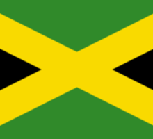 Jamaican Flag - Jamaica T-Shirt Sticker