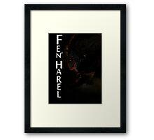 Fen'Harel - Tarot Card Framed Print