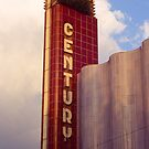 20th Century Theatre - Vertical Marquee by Steven Godfrey