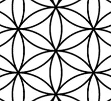 The flower of life Sticker