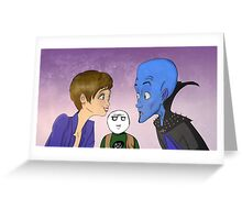 Megamind, Roxanne, and Hal Greeting Card
