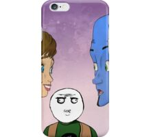 Megamind, Roxanne, and Hal iPhone Case/Skin