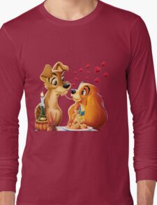 Lady and the Tramp Long Sleeve T-Shirt