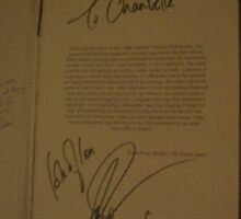 my Copy Of Derren Brown's book Pure effect Signed by lollipopgirl