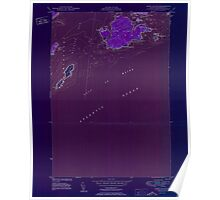 Maine USGS Historical Map Cross Island 806622 1950 24000 Inversion Poster