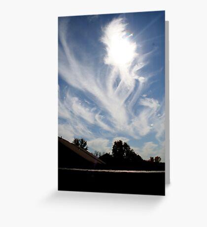angels amoung us  Greeting Card