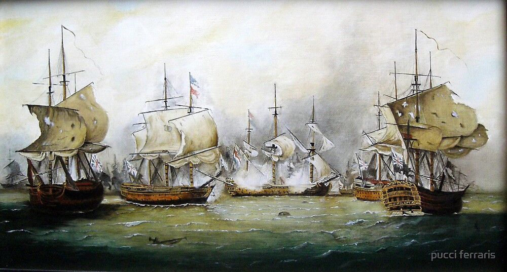 naval battle   by pucci ferraris