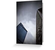 Corporate Giants - SYDNEY NSW AUSTRALIA Greeting Card