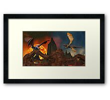 Dragons Domain Framed Print