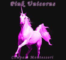 Pink Unicorns Compass Montessori Unisex T-Shirt