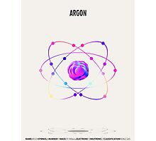 Argon - Element Art Photographic Print