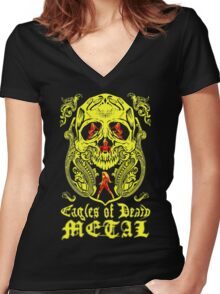 EODM - Eagles of Death Metal Women's Fitted V-Neck T-Shirt