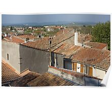 Arles Rooftops Poster