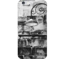 Black and White Lamppost iPhone Case/Skin