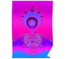 Ultra Fractal Image Poster