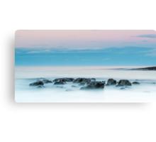 Ocean Rocks at Sunset Canvas Print