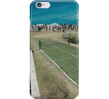 Level Playing Field, Sculptures By The Sea 2006 iPhone Case/Skin
