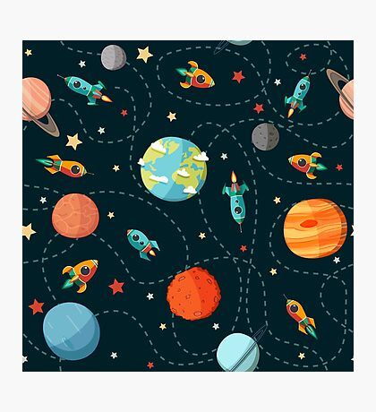 Space Adventure Photographic Print