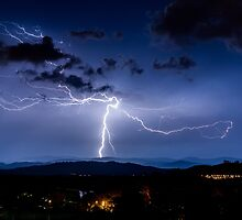 Tree of Life Lightning Strike by glennsphotos