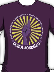 Gogol Bordello - Start Wearing Purple T-Shirt