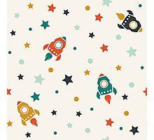 Space Adventure Photographic Print